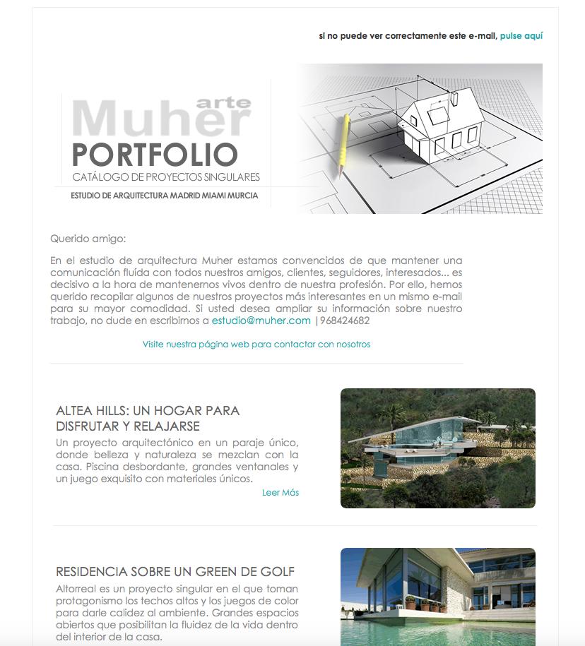 Diseño de campañas e-mailing