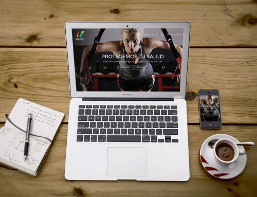 Tienda online de Neolastic: diseño del rincón del atleta y el profesional