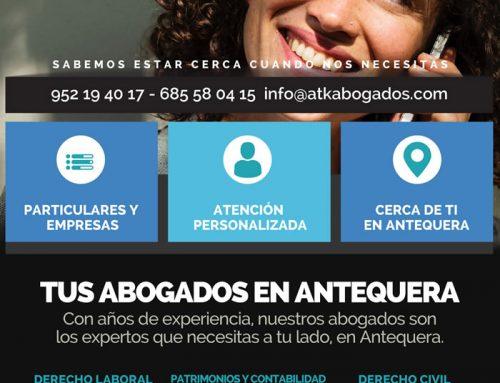 Diseño Gráfico: Anuncio para revista de fiestas Antequera