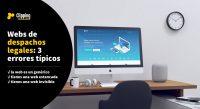 webs para despachos legales jurídicos abogados