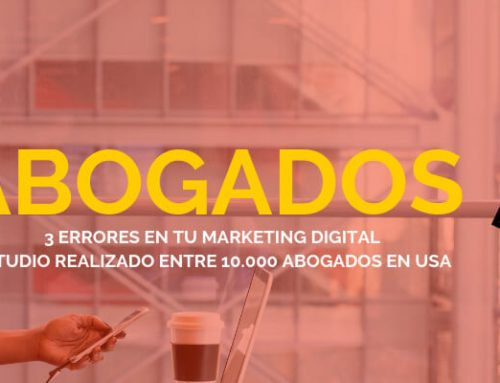Letrados: un estudio revela 3 errores críticos en el marketing de los despachos.