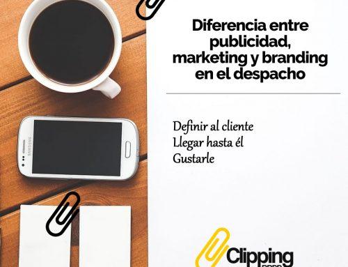 Branding, marketing y publicidad en despachos legales. Diferencias