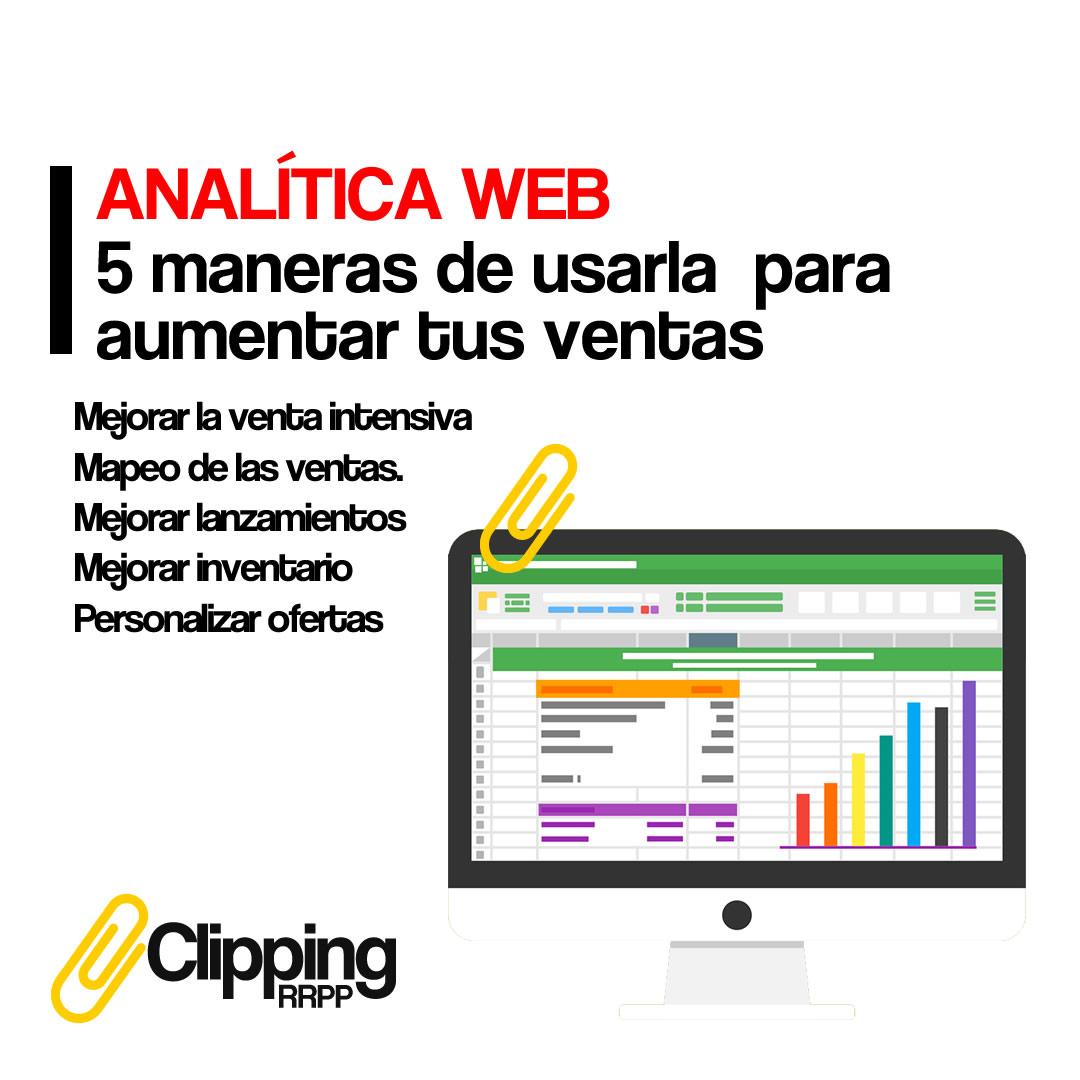 Analítica Web mejora las ventas