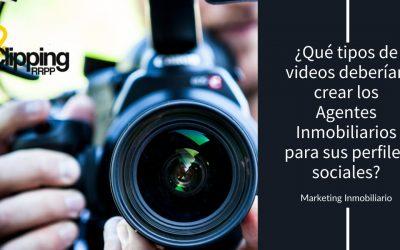 ¿Qué tipos de videos deberían crear los Agentes Inmobiliarios para sus perfiles sociales?
