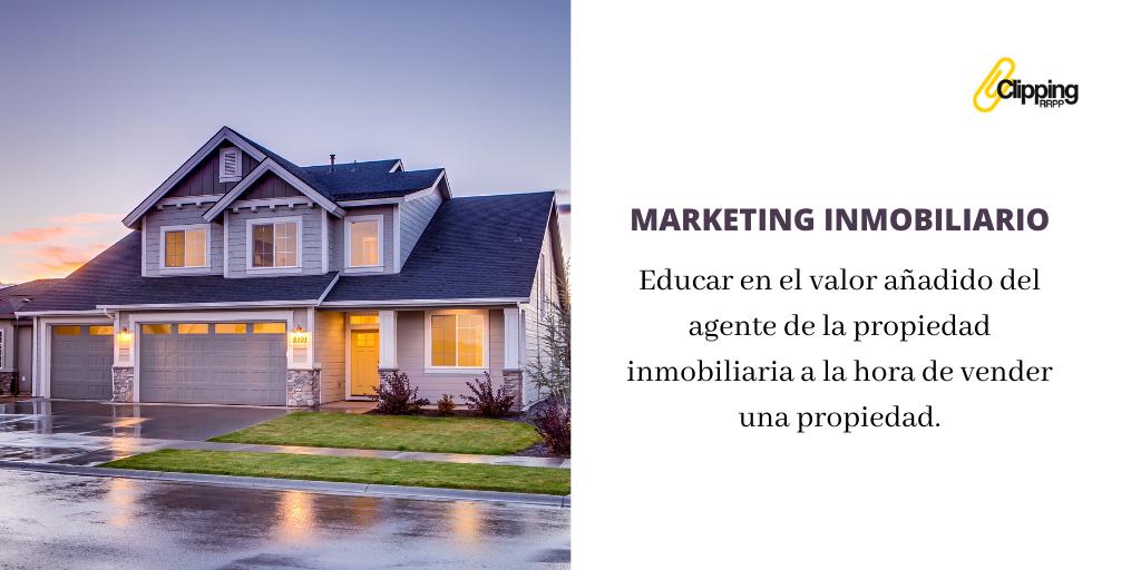 Marketing inmobiliario: la importancia de vender con la inmobiliaria
