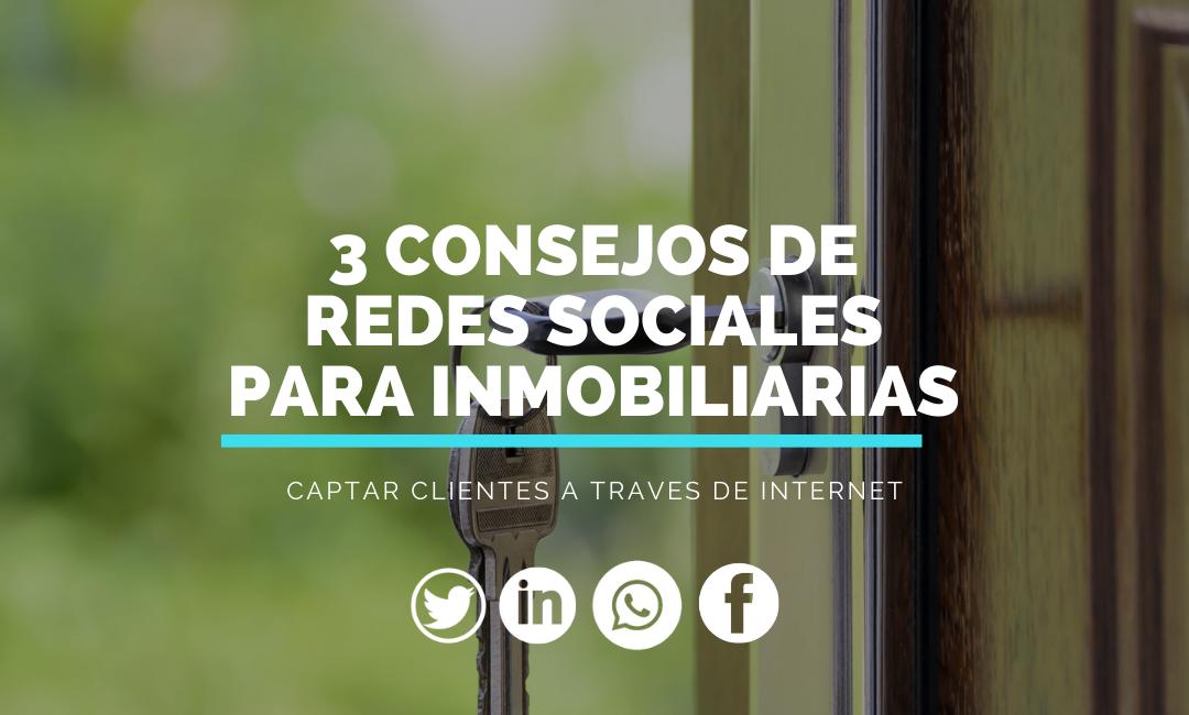 3 estrategias de marketing en redes sociales para inmobiliarias