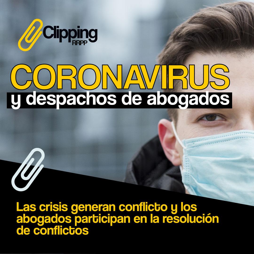 Coronavirus en despachos de abogados