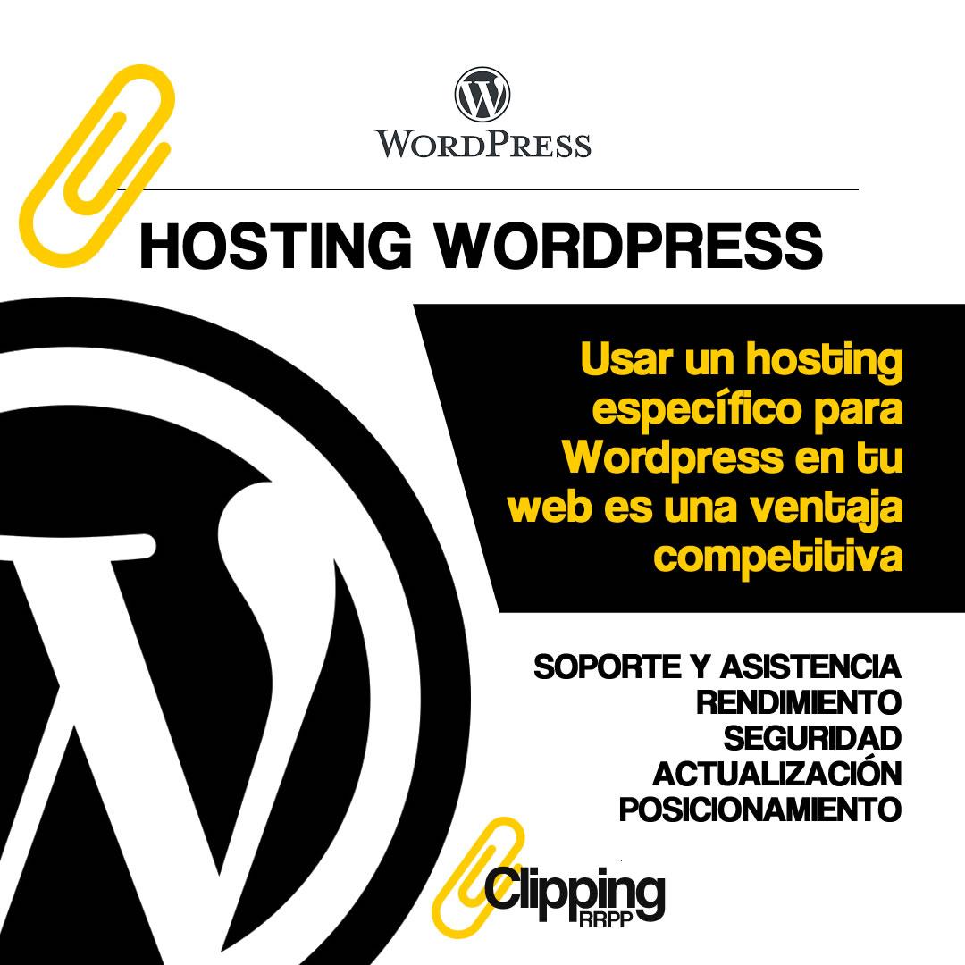 Hosting Wordpress: marca la diferencia a favor de tu web