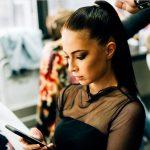 Salones de belleza en las redes sociales