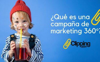 ¿Qué es una campaña de marketing 360°?