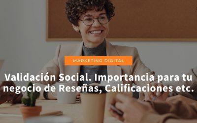 Reseñas y puntuaciones: la validación social